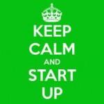 keep calm adn start up