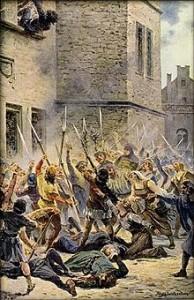 Defenestrazione Praga Liebscher 1419