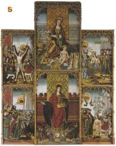 Dolianova- Retablo di San Pantaleo (sec.XV)