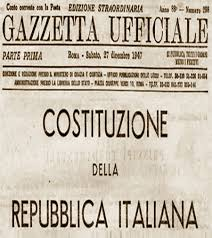 costituz italiana