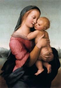 Le Madonne di Raffaello La Madonna Tempi