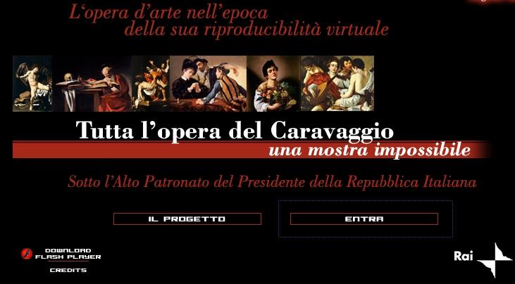caravaggio1 Mostra impossibile RAI