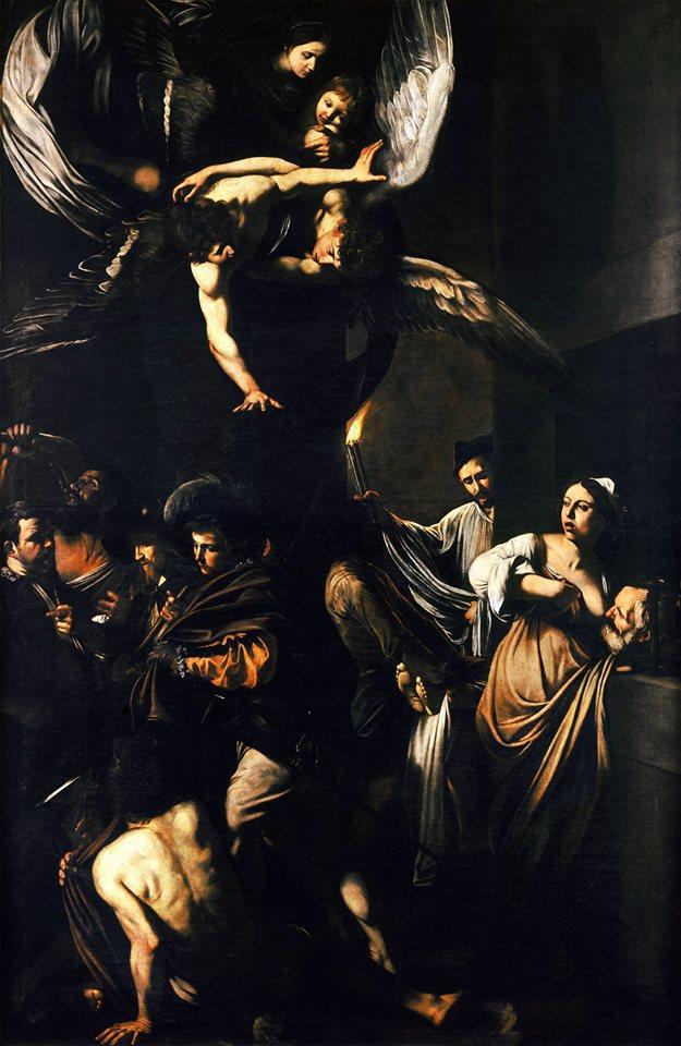 Caravaggio La Madonna della Misericordia