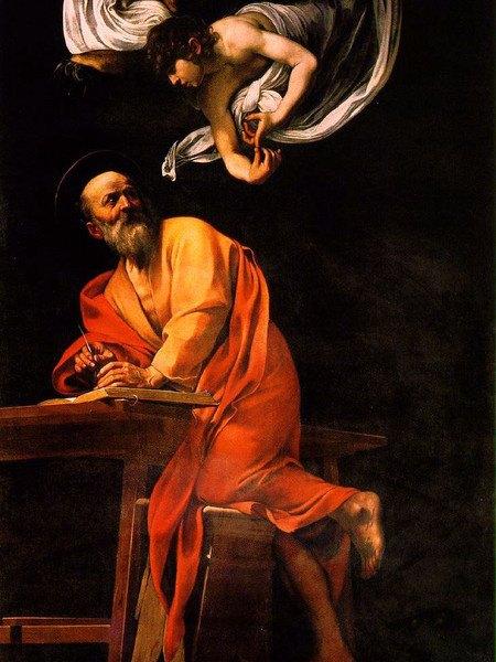 Caravaggio S Matteo e l'angelo