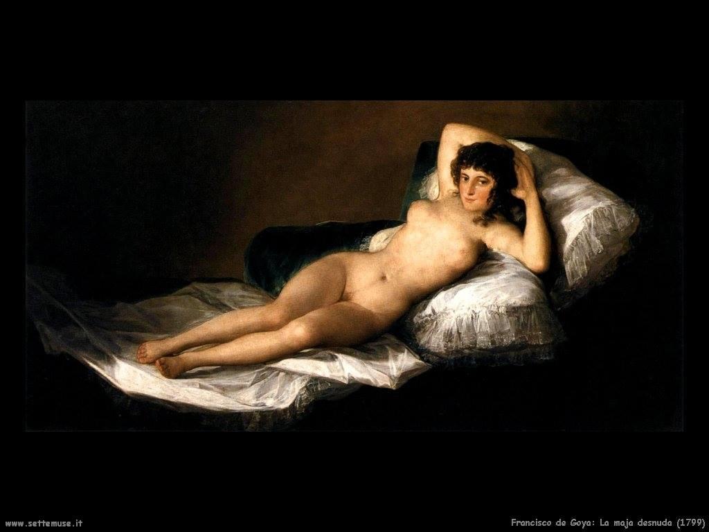 Francisco Goya - La Maya desnuda