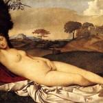 Giorgione- La Venere dormiente o Venere di Dresda