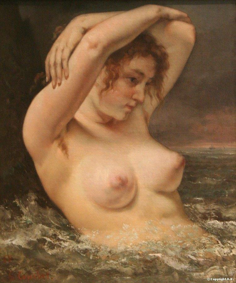 L' onda Gustave Courbet.