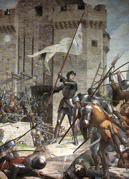 Lenepveu Jeanne d'Arc aus iège d'Orléans