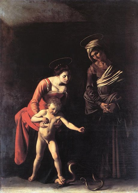 Madonna dei palafrenieri Caravaggio