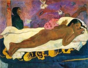 Paul Gauguin- Manao Tupapau