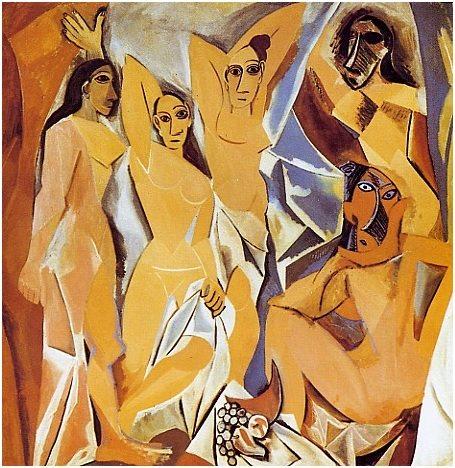 Picasso Mademoiselles d'Avignon