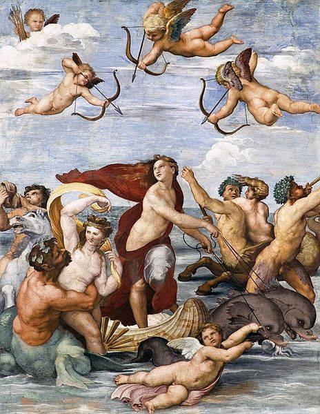 Raffaello Il trionfo di Galatea