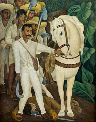 Zapata di Diego Rivera