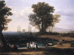 Claude Lorrain (1682)  Il rapimento di Europa