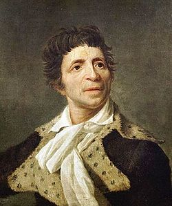 JeanPaul Marat portre