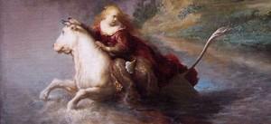 Rembrandt Ratto Europa particol