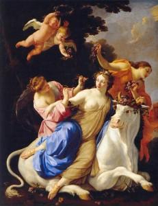 Simon Vouet (1640)  Il torello
