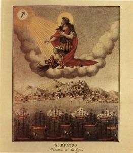 sant efisio contro i francesi 1793