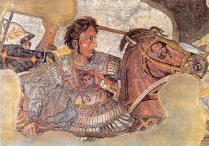 AlessandroMagno moaico Pompei