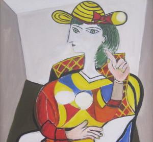 like Picasso copia