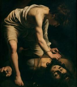 Caravaggio Davide e Golia,