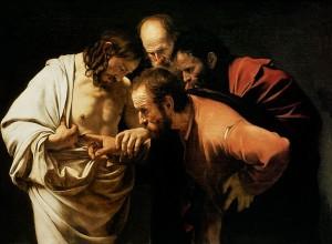 Caravaggio Tommaso incredulo