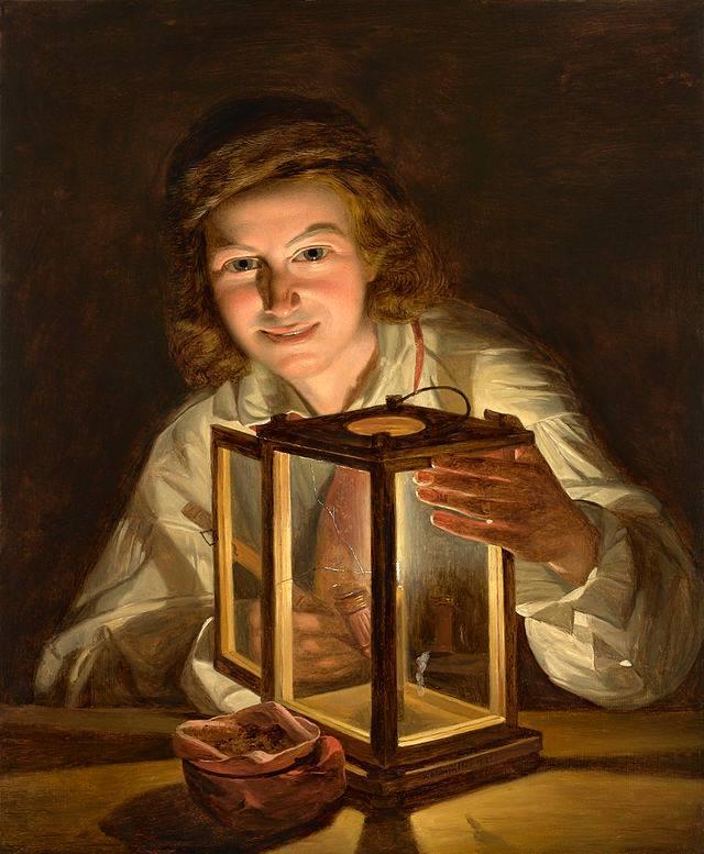 Il ragazzo con la lampada Ferdinand Georg Waldmuller