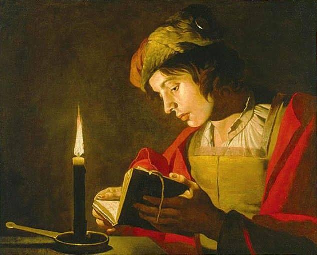 Mathias Stomer - Giovane che legge