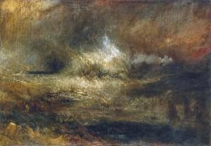 Bill Turner Stormy Sea with Blazing