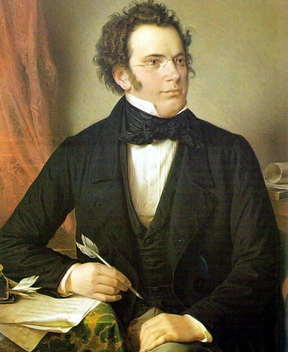 Franz Schubert (born January 31, 1797)