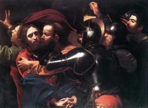 Bacio di Giuda del Caravaggio