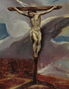 Cristo in croce, di El Greco