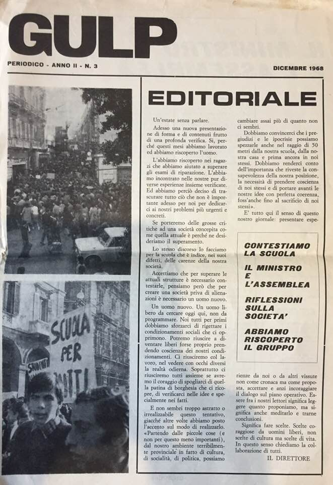 gulp-anno-ii-n-3-dic-1968-primo-nro-a-stampa
