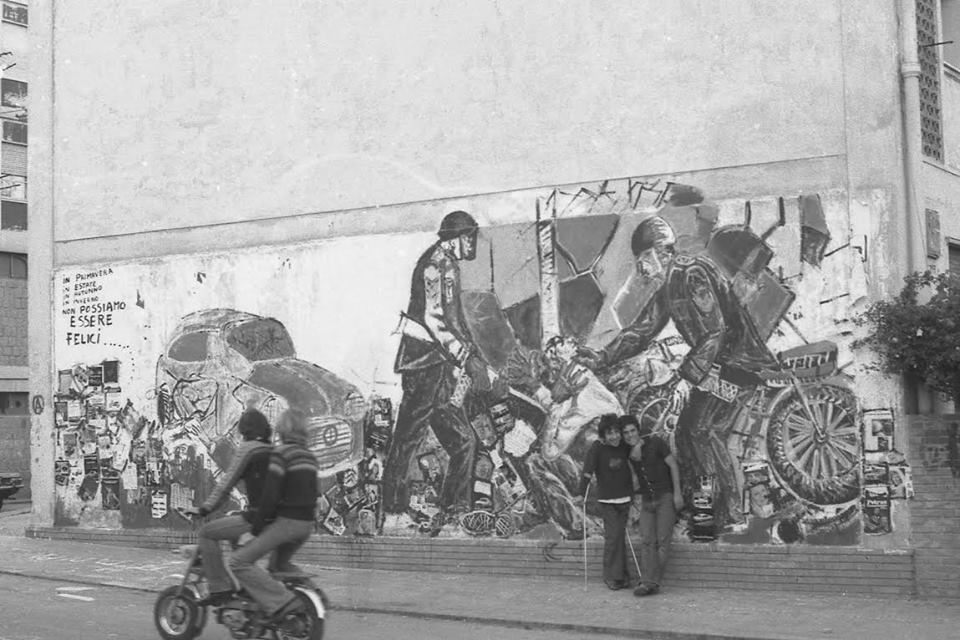 murale Wilson Spiga Giuliano Marras