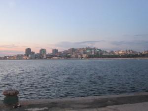 Cagliari dal mare 2014