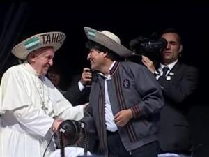 bolivia e papa francesco