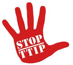 stop TTIP mano loghetto