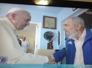 Papa e Fidel