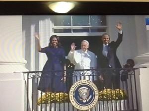 Papa e Obama's