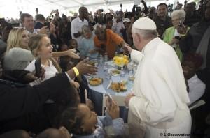 Papa e senzatetto
