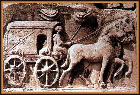 carro postale romano LL