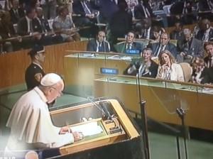 papa Francesco ONU