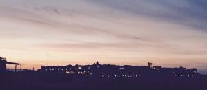 tramonto notte ricercatoricagliari