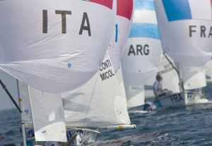 vela olimpica Lobina