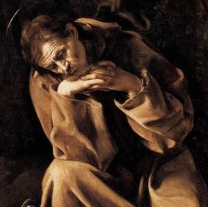 San Francesco Caravaggio o caravaggesco