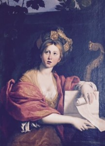 Sibilla Cumana Domenichino gall Borghese