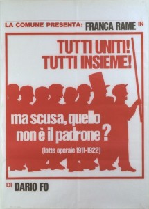 Tuti uniti... Dario Fo