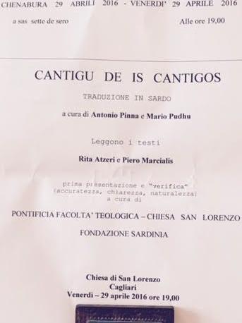 Cantigu 29 4 16