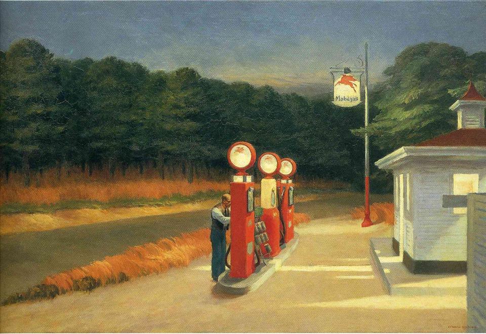 Hopper pompe di benzina
