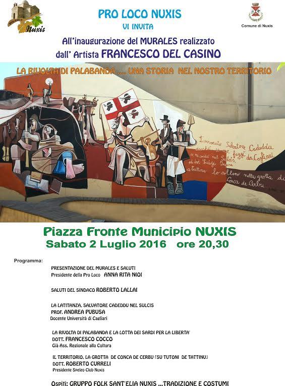 Nuxis Palabanda 2 lug 16